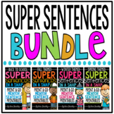 Super Sentences in a Snap: Mentor Sentence Printables BUNDLE