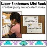 Super Sentences mini book