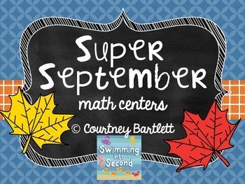 Super September math centers