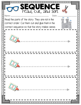 Super Sequence: Read, Cut, and Sort