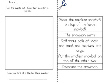 Super Sequencing Fun {Reading and Writing Activities}