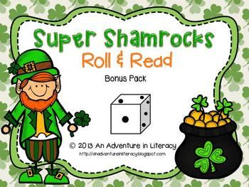 St. Patrick's Day Roll & Read Bonus Pack-26 games