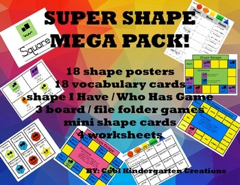 Super Shape Mega Pack!