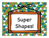 Super Shapes FREEBIE- English Version