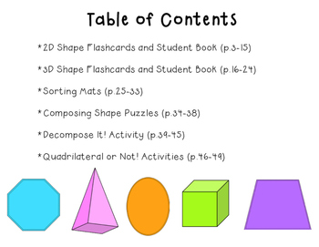 Super Shapes: Geometry Games & Activities for 2/3