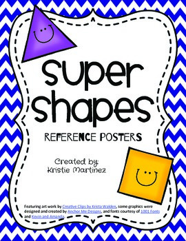Super Shapes {Shape Reference Posters}
