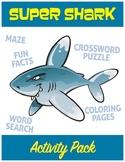 Super Shark Activity Pack