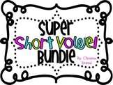 Super Short Vowel Bundle {Word Work Activities}