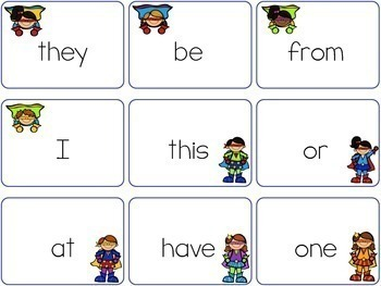 Super Sight Word BAM Bag Freebie