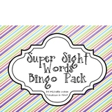 Super Sight Word Bingo