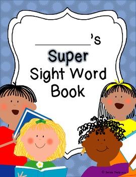 Super Sight Word Book