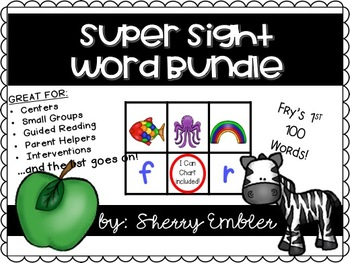 Sight Word Bundle - Fry's First 100