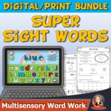 Super Sight Word Bundle of Print and Digital Practice