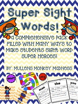 Super Sight Word Pack!