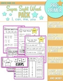 Super Sight Word Pack: I, can, me, you