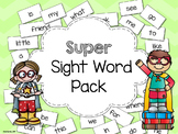 Super Sight Word Pack - aligned to Treasures Curriculum an