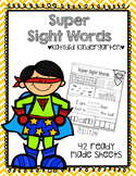Sight Word (Super) Printables