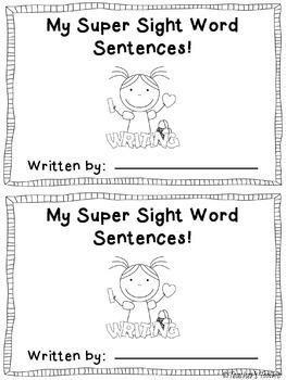 Scrambled Sight Word Sentences Dolch First Grade