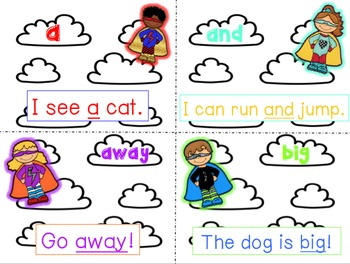 Super Sight Words! - Practice Pack