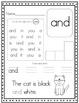 Super Sight Word Worksheets, Set 1