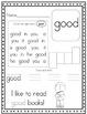 Super Sight Word Worksheets, Set 4