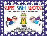Super Sight Words (7 Dolch Word Board Games)