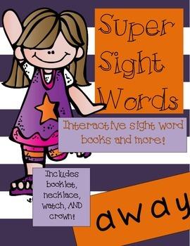 Super Sight Words - Away