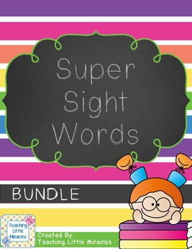 Super Sight Words - BUNDLE!!!