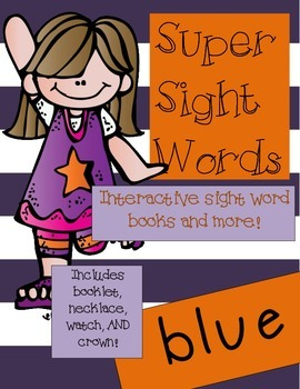 Super Sight Words- Blue