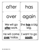Super Sight Words - Dolch First Grade