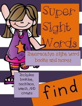 Super Sight Words - Find