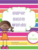 Super Sight Words - First Grade Pack