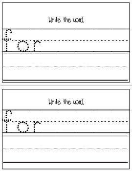 Super Sight Words - For