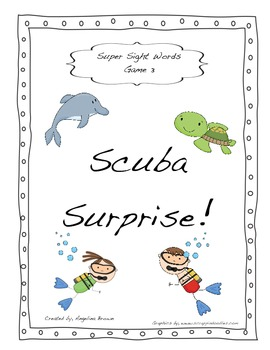 Super Sight Words- Game 3