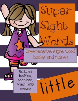 Super Sight Words - Little