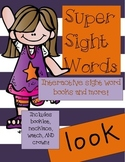 Super Sight Words - Look (interactive sight word book)