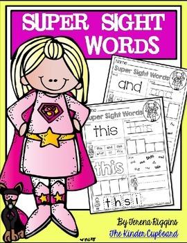 Super Sight Words Practice