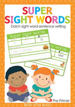Super Sight Words Pre-Primer