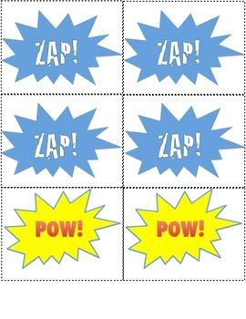Super Hero Sight Words Primer