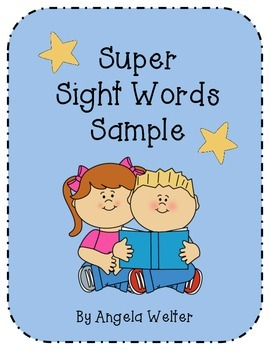Super Sight Words Sample