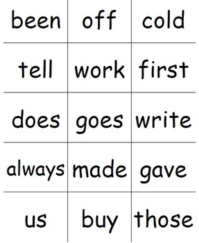 Super Sight Words - Second Grade Pack
