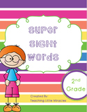 Super Sight Words - Second Grade Pack
