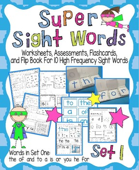 Sight Word Activity Pack Set 1