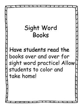 Super Sight Words Unit (Set 1)