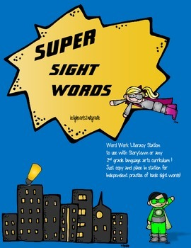 Super Sight Words for 2nd!