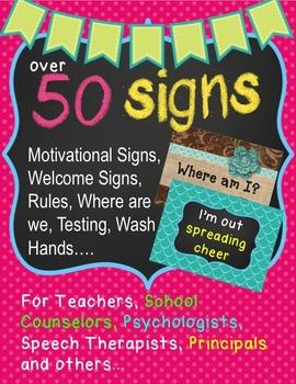 Decorations Bundle for Specialists, Counselors, Psychologi