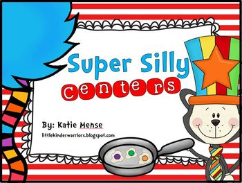 Super Silly Centers Math and Literacy