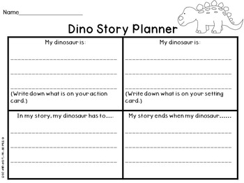 Super Silly Dinosaurs: Writing Activities