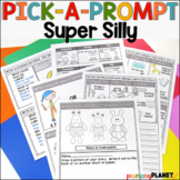 Picture Writing Prompts Spelling Support and Choice!  Supe