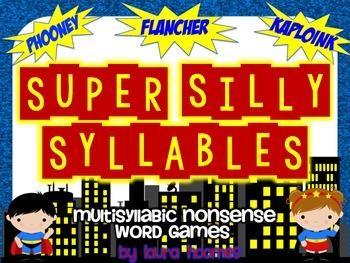Super Silly Syllables- Multisyllabic Nonsense Word Games